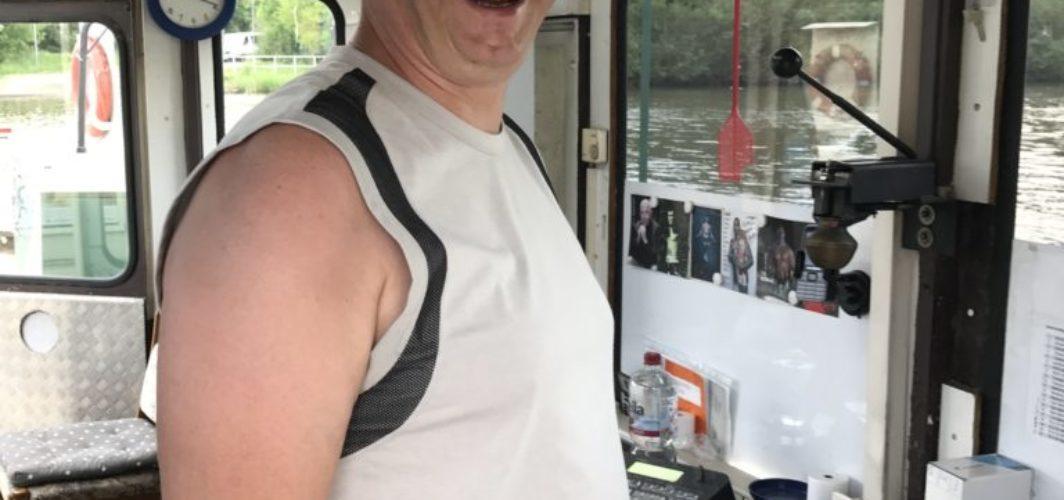 Neuer Fährmann auf der Brücke